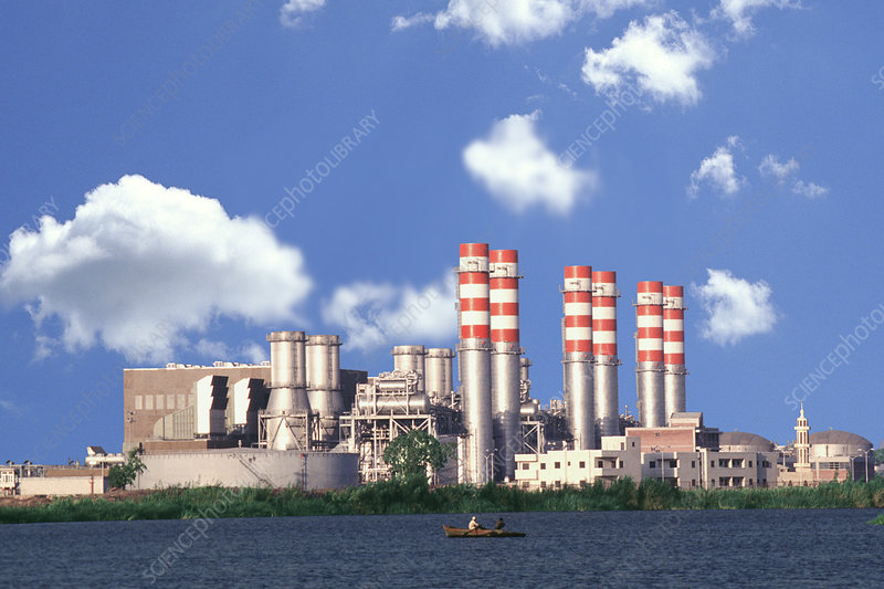 Combined cycle power station