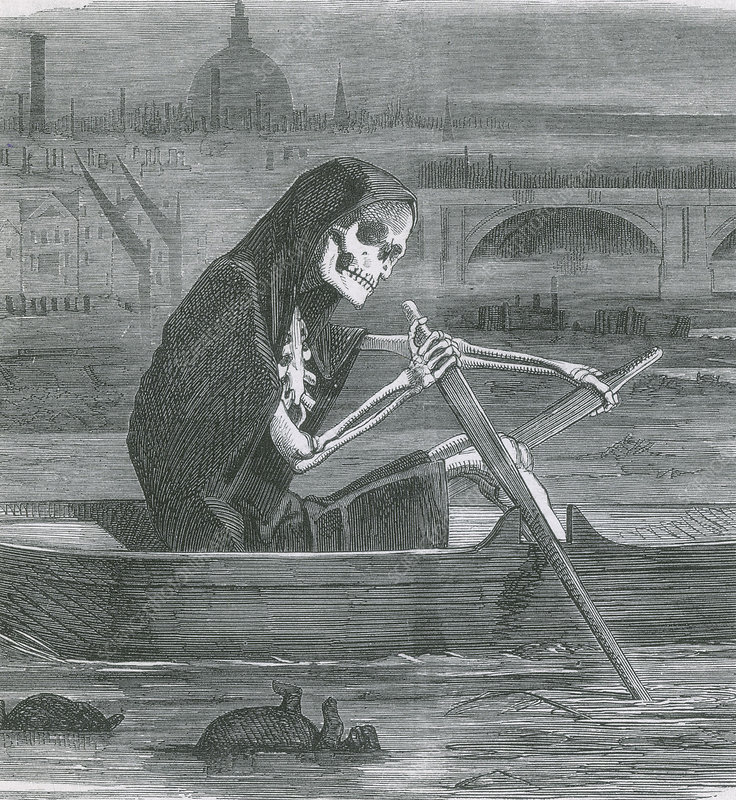 The Great Stink, 1858