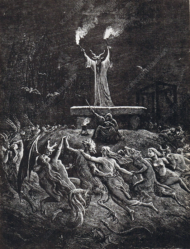 Witches' Sabbath, 1884