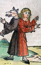 Wolf Boy, Nuremberg Chronicle, 1493