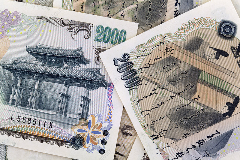 Japanese Yen, Paper Currency