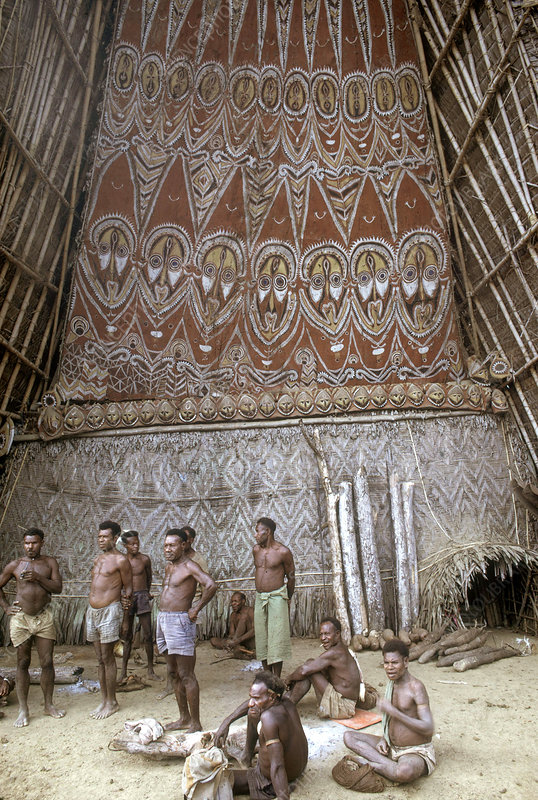 Sepik Spirit House, Papua New Guinea