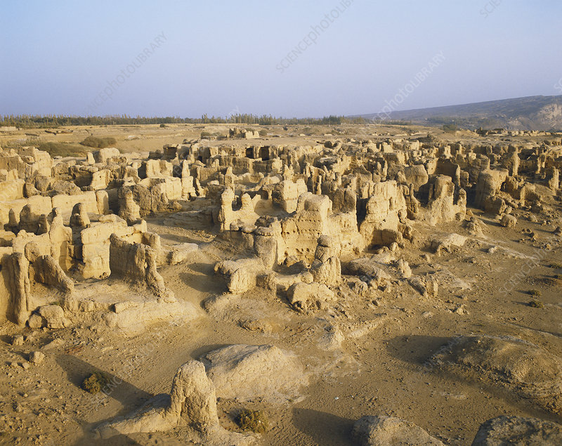 Ruins of the Ancient Jiaohe, China