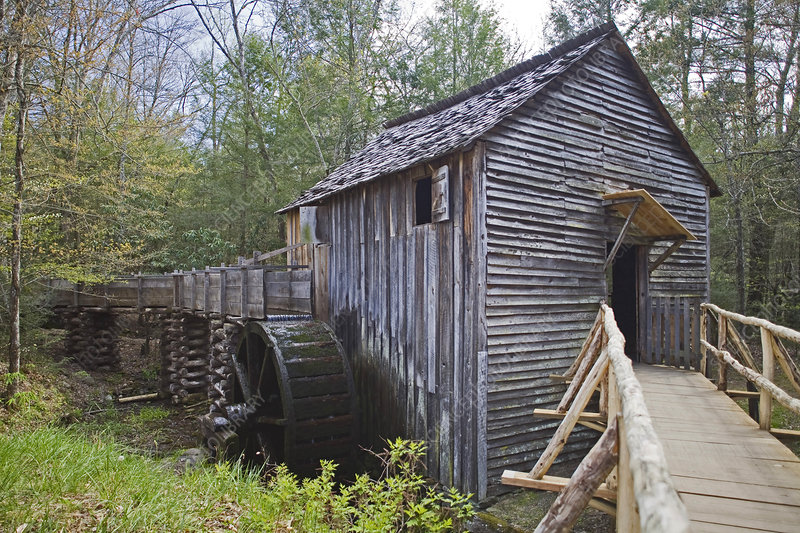 Grist Mill, Appalachian Mountains