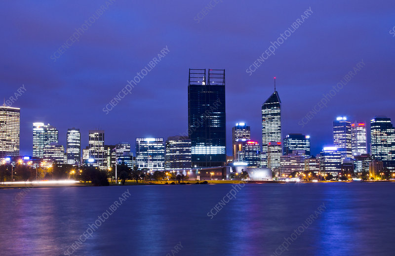 Skyline of Perth, Australia