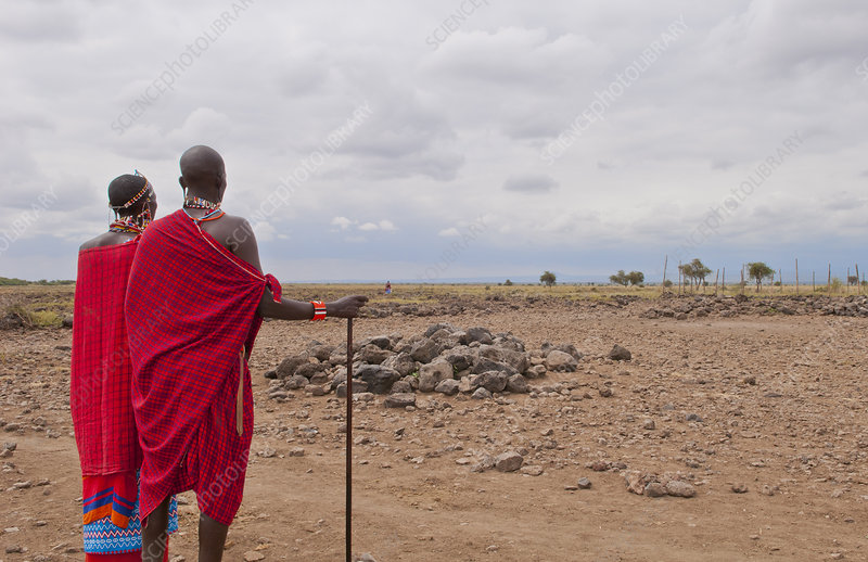 Masai Man and Wife, Kenya