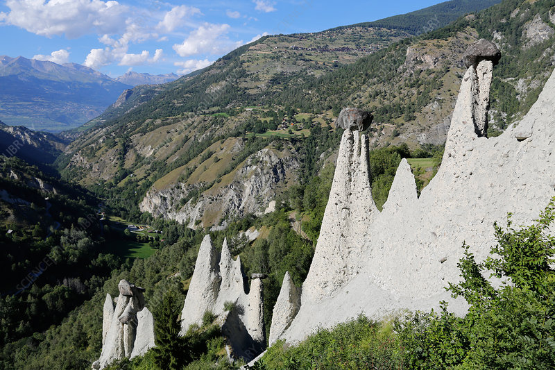 Natural Pyramids, Switzerland