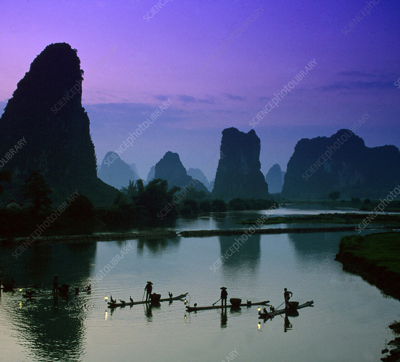 Trout Fishermen, China