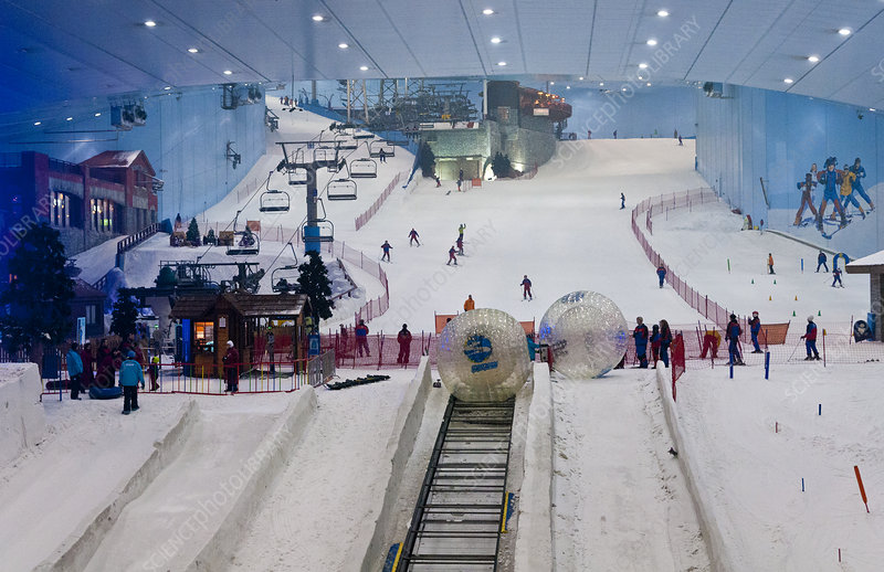 Indoor Ski Resort, UAE Dubai