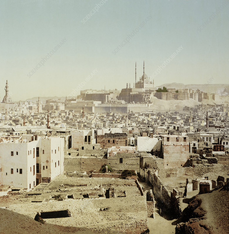 View of Old Cairo, Egypt, 1906