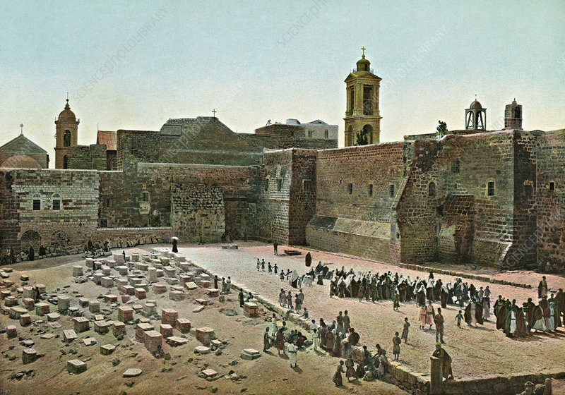 Church of the Nativity, Bethlehem, 1890s