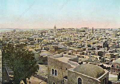 Jerusalem from the North, 1890s