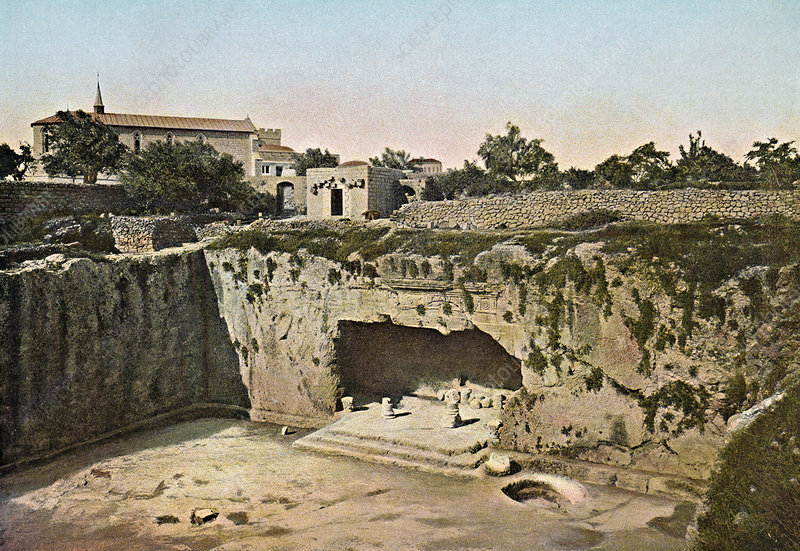 Tombs of the Kings, Jerusalem, 1890s