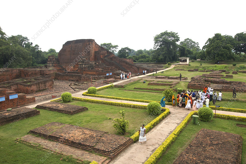 Archaeological Site, Nalanda, India