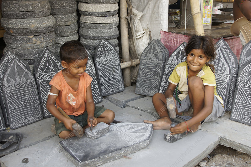 Children at Work, Bihar, India