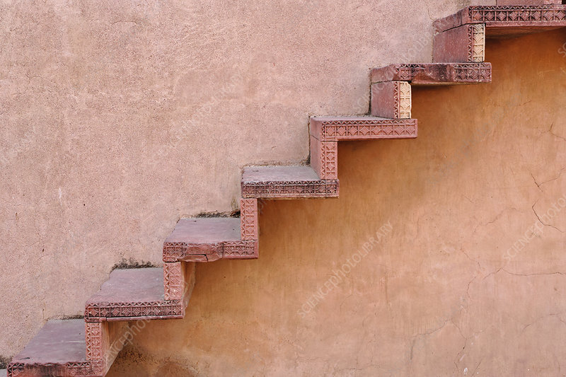 Stairs, India