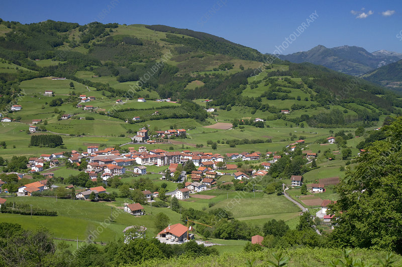 Basque Countryside, Biscay, Spain
