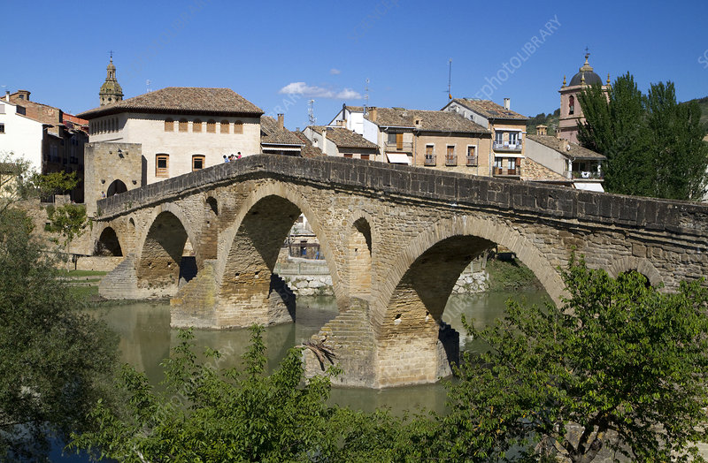 Six-Arched Roman Bridge, Spain