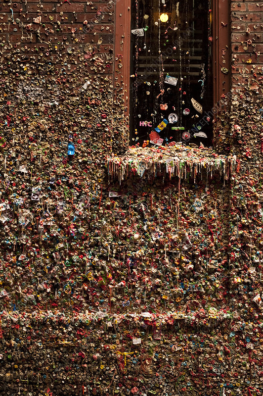 Pike Place Market Gum Wall, Seattle