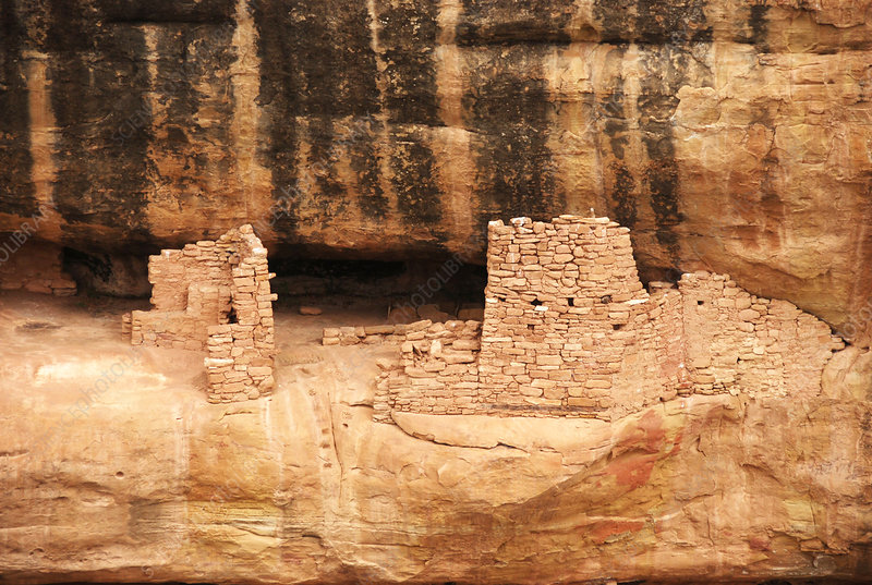 Small Cliff Dwelling, Mesa Verde, U.S.
