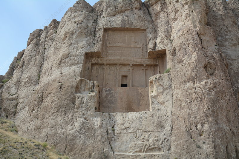 Tomb at Naqsh-e Rustam, Iran