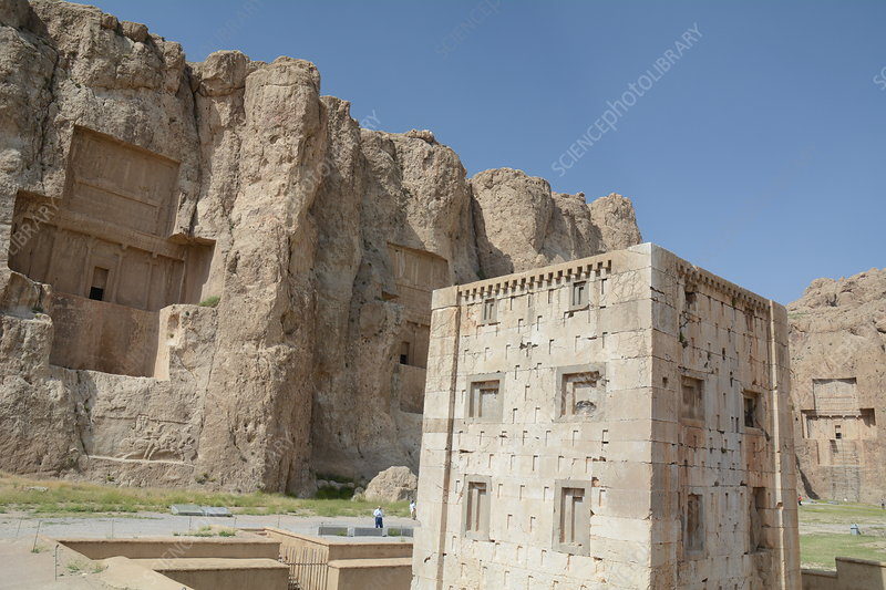 Tombs at Naqsh-e Rustam, Iran