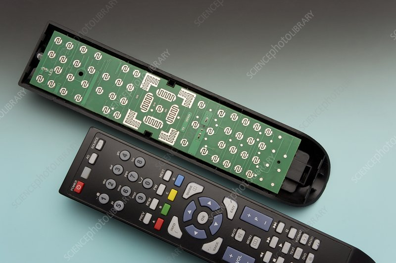 TV Remote Control Components