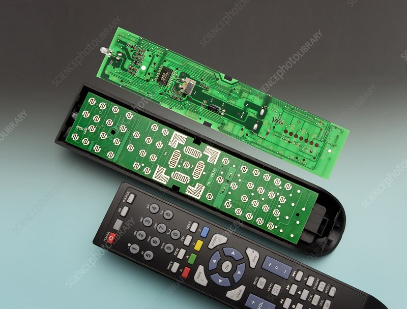 Remote Control Printed Circuit Board