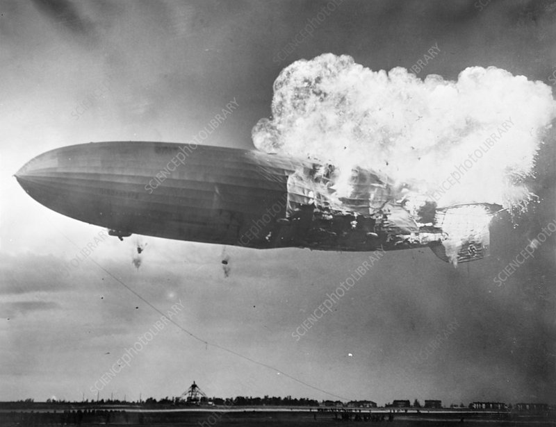 Hindenburg disaster, NAS Lakehurst, USA