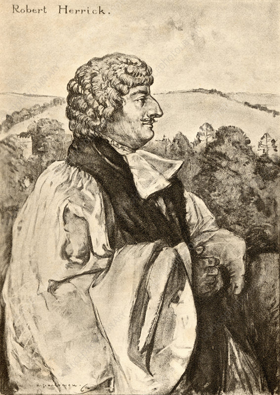 Robert Herrick, English poet