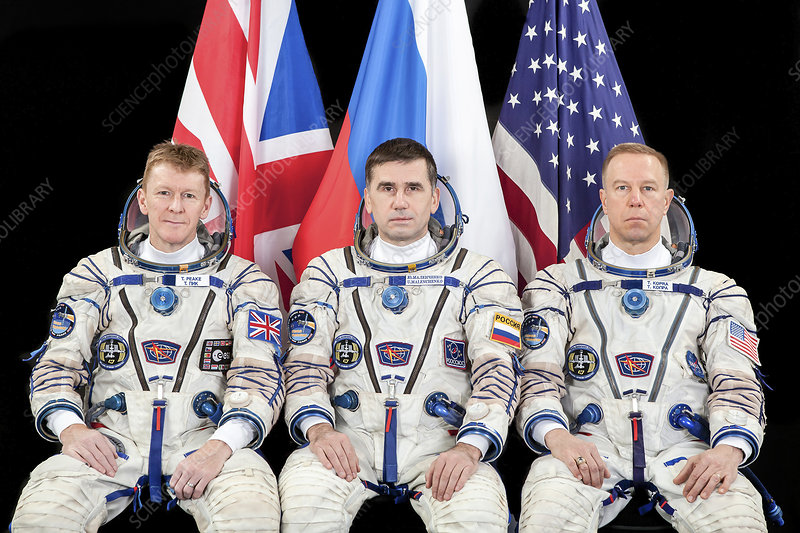 ISS Expedition 46 crew
