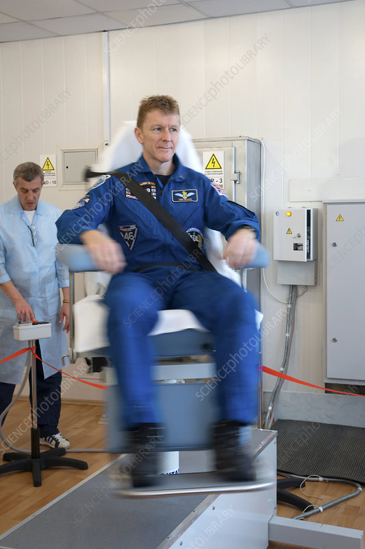 Tim Peake, British astronaut in training