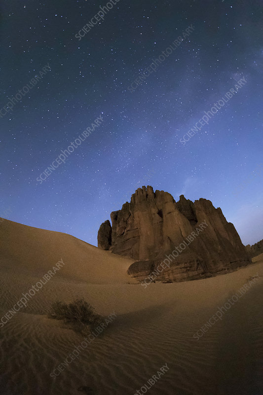Milky Way over the Sahara Desert, Algeria