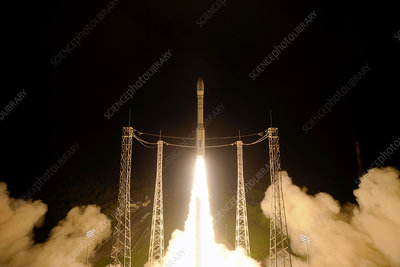 LISA Pathfinder space probe launch