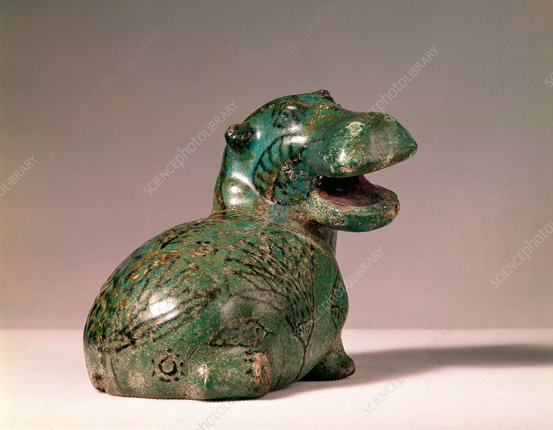 Ancient Egyptian Hippopotamus Figurine