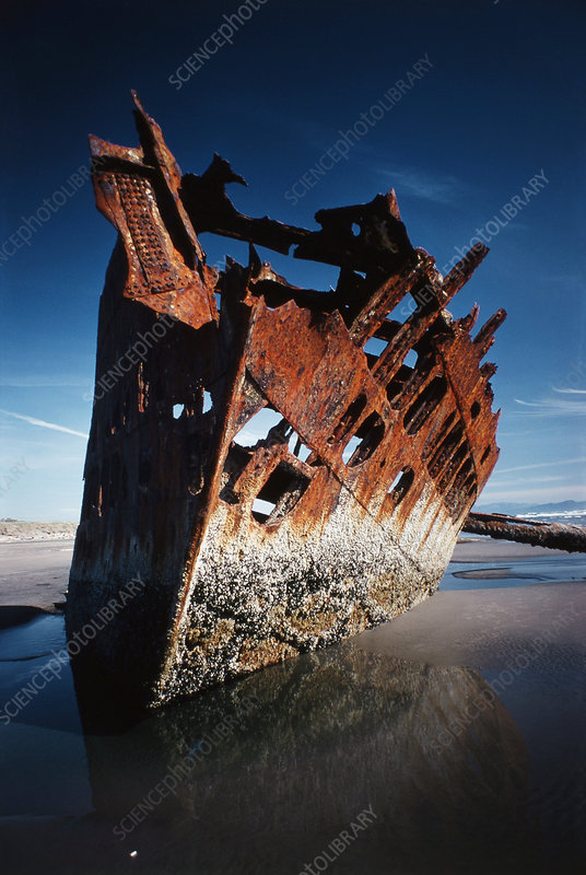 S.S. Peter Iredale, 1906 Wreck, Oregon