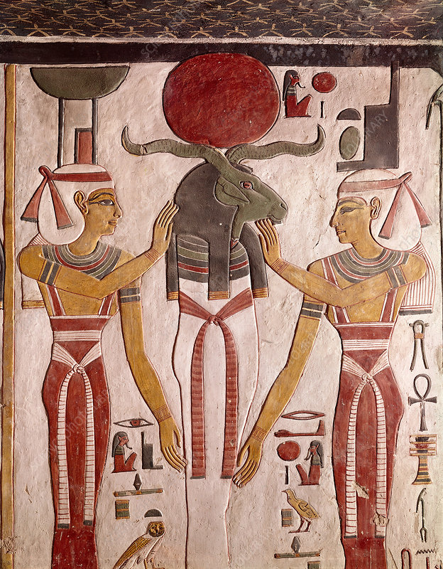 Tomb Relief of God Khnum