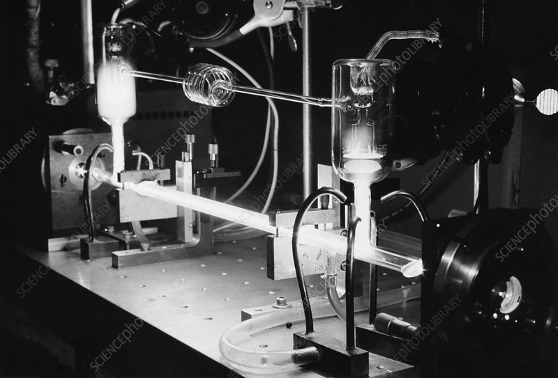 Argon Laser Used in Experiments