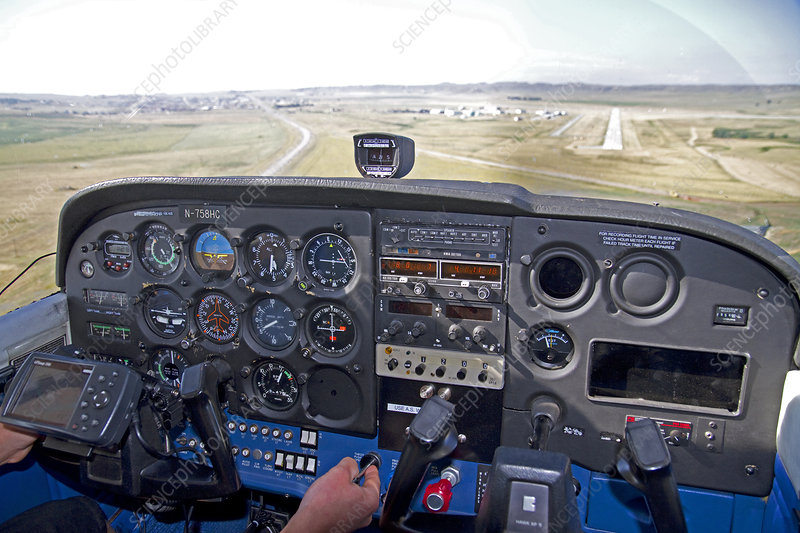 Cockpit View of Landing