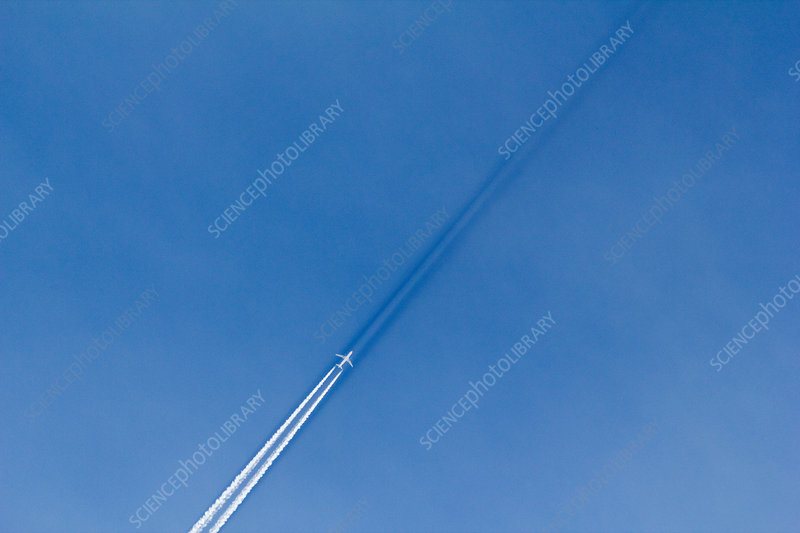 Contrail Shadow