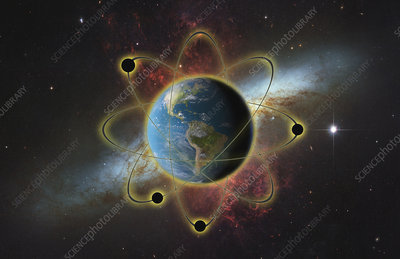 Atomic Earth, illustration