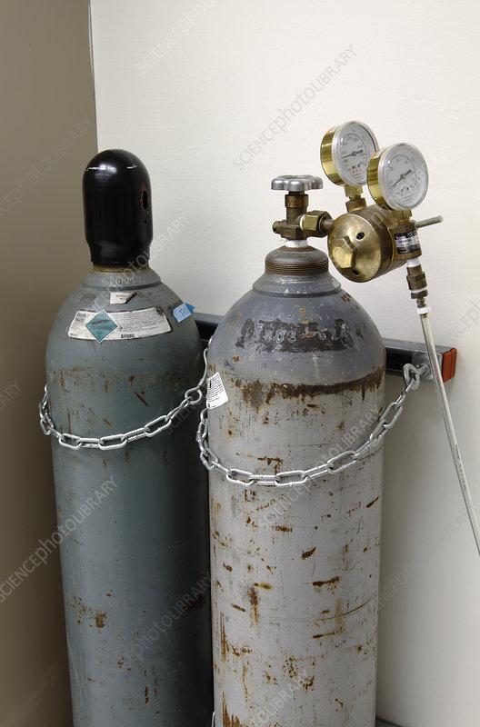 Compressed Carbon Dioxide Cylinders
