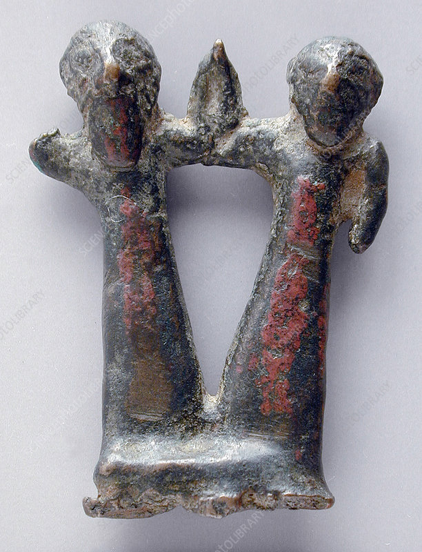 Bronze Male and Female Figure
