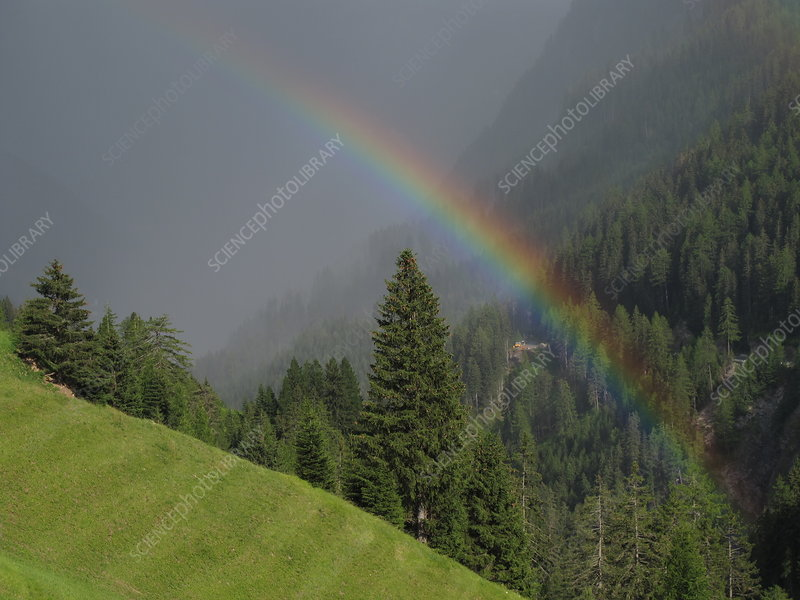 Rainbow, Switzerland
