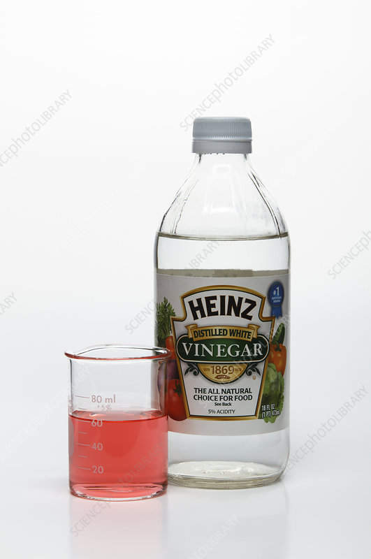 Universal Indicator, Vinegar Solution