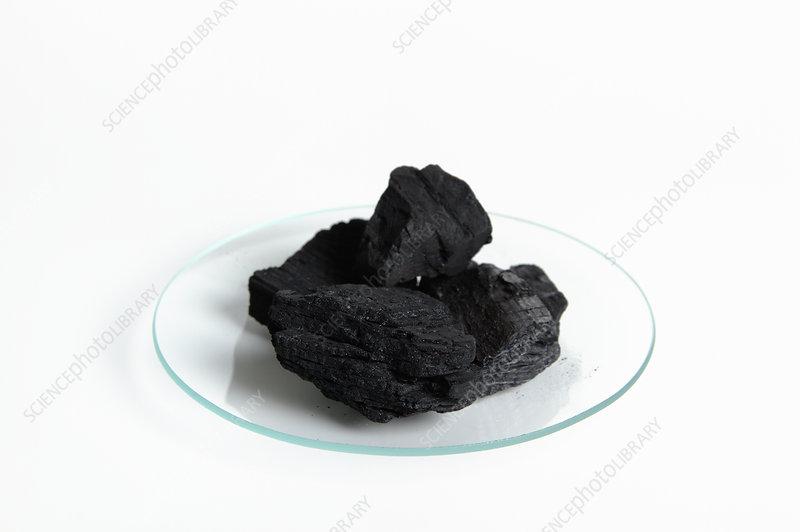 Carbon (charcoal) Lumps, One Mole