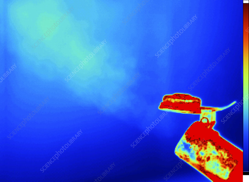 Thermogram of a Boiling Kettle