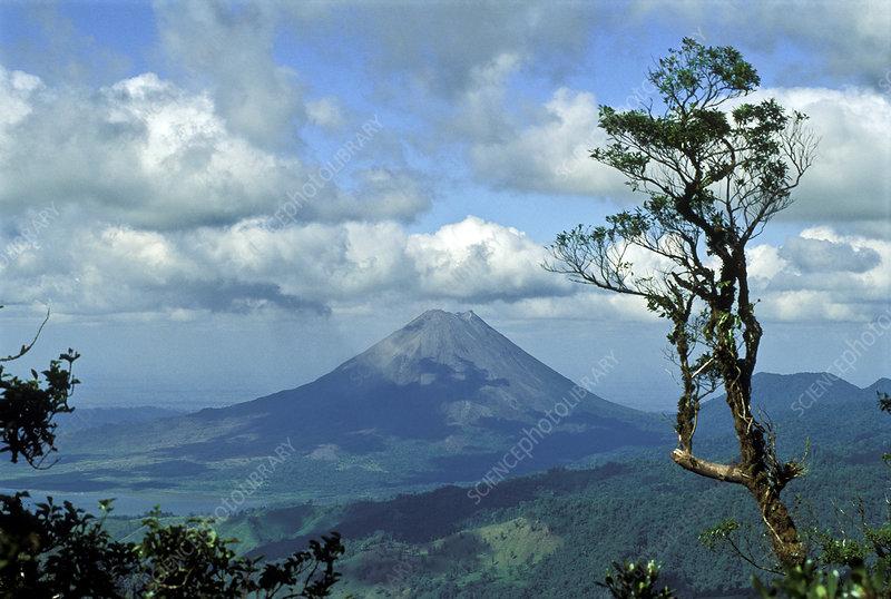 Costa Rica's Arenal Volcano