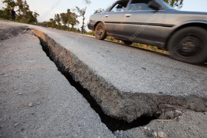 Epicenter of the Earthquake in Haiti
