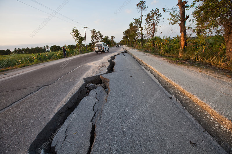 Epicenter of the Earthquake in Haiti
